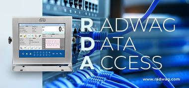 RADWAG Data Access in HY10 software
