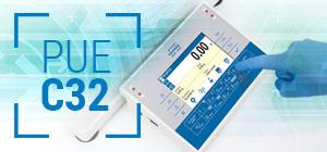 PUE C32 - modern weighing terminal
