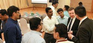 Meeting of distributor's dealers in Mumbai