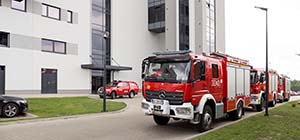 Fire Brigade Visit in RADWAG Balances and Scales Headquarters
