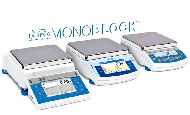 PS M Precision Balances Precise measurement of large mass loads thanks to innovative RADWAG MonoBLOCK<sup>®</sup> technology