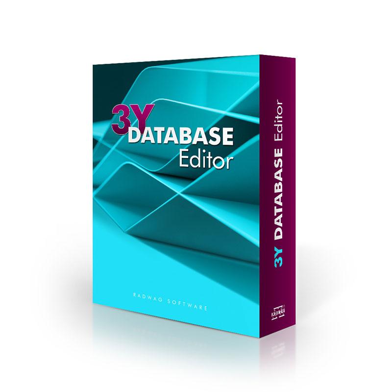 3Y Database Editor PC Software - RADWAG Balanzas Electrónicas