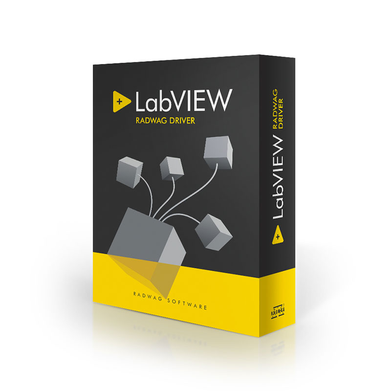 "Labview Radwag Driver - LabVIEW ""Radwag Balances & Scales"" driver is used to support Radwag-manufactured weighing instruments operating in LabView environment. Since this driver was programmed in LabView development environment without using programming libraries, therefore it is available on each platform with correctly configured LabVIEW environment"