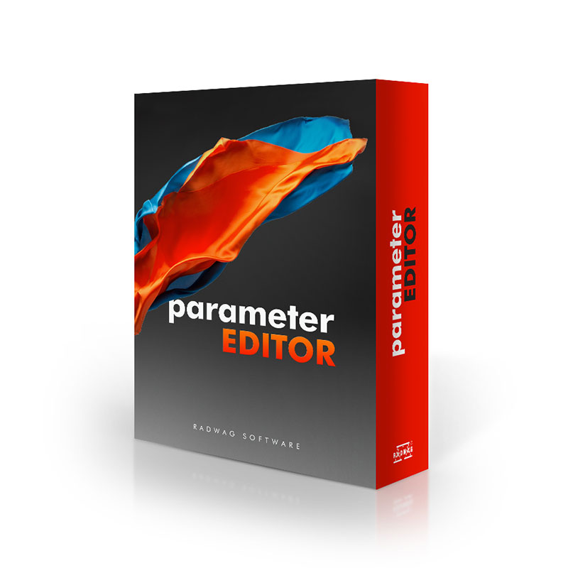 Parameter Editor PC Software view:1
