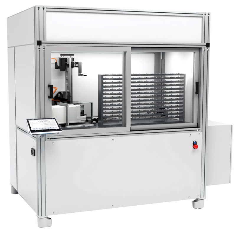 RMC 2.4Y.FC Robotic Weighing System in Environmental Protection