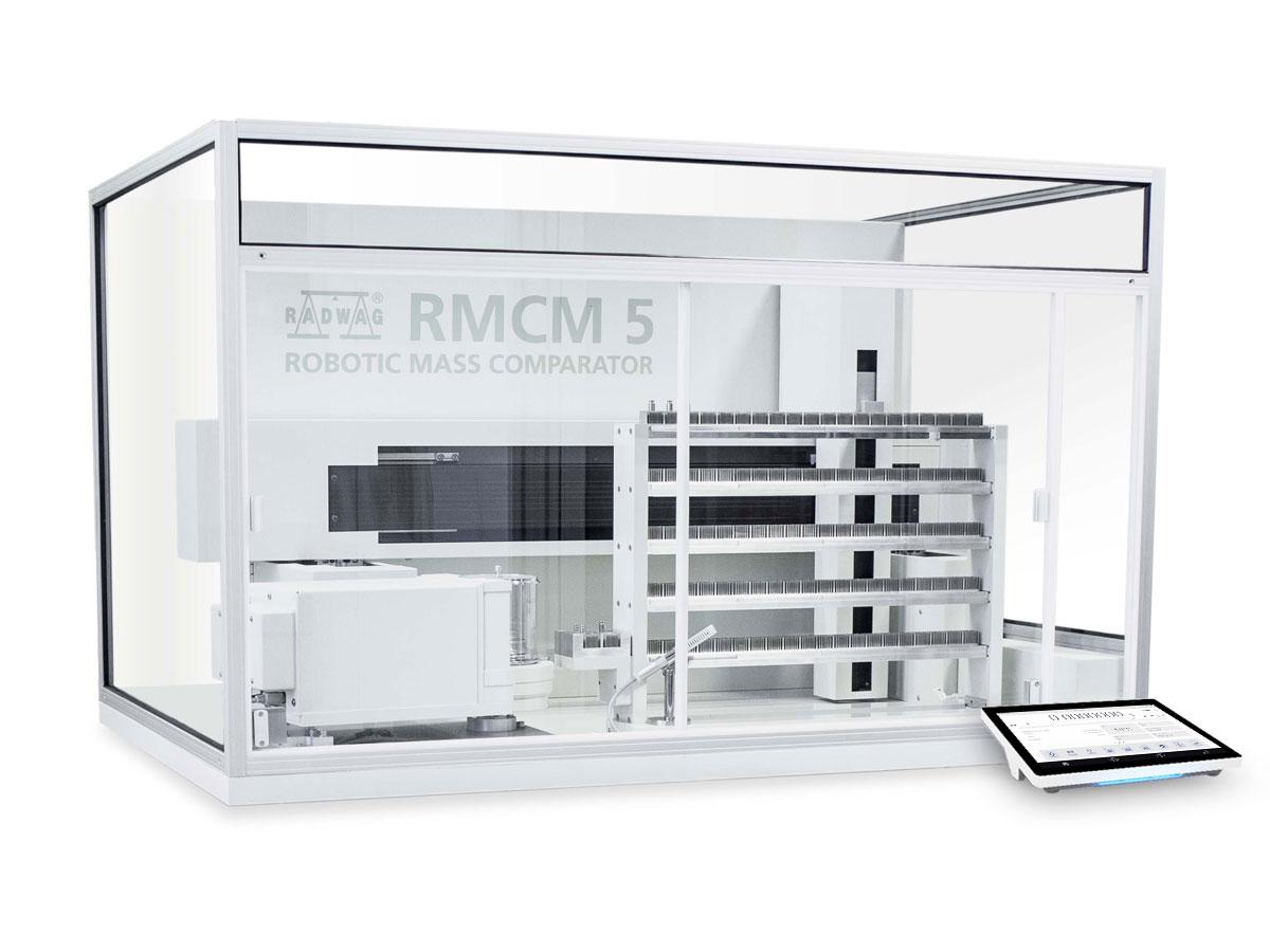 RMCM 5 Robotic Mass Comparator in Mass Comparators