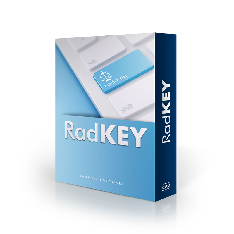 Rad Key - Radwag Les Balances Electroniquesview:1