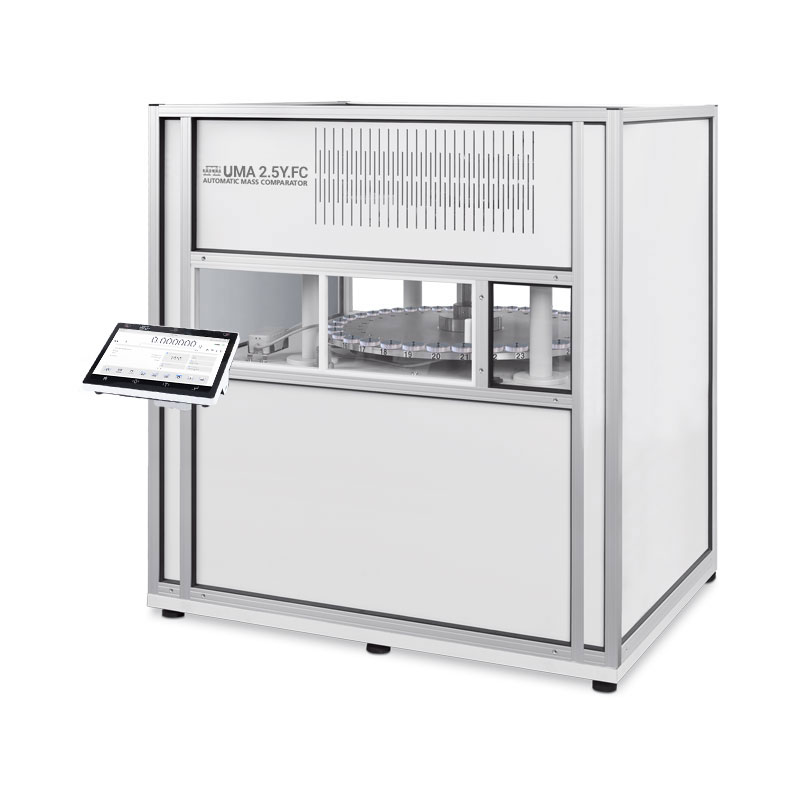 UMA 2.4Y.FC Automatic Weighing System in Environmental Protection