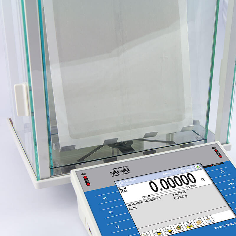 XA 110.4Y.F Analytical Balance view:7