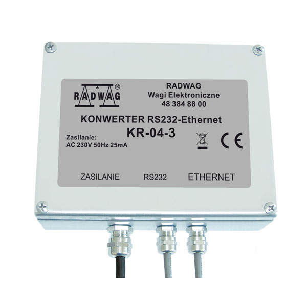 Convertisseur KR-04-3 - Radwag Les Balances Electroniquesview:1