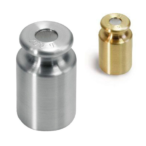 M1 Mass Standard - knob weights with adjustment chamber - 10 g