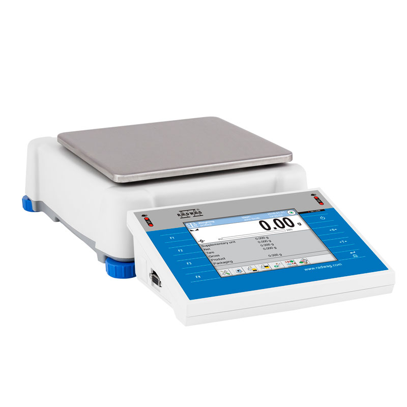 PS 1500.3Y Precision Balance - The 3Y series comprises automatic internal adjustment system using an internal mass standard. The balance level is monitored by a LevelSENSING system, a RADWAG patented solution including an electronic level