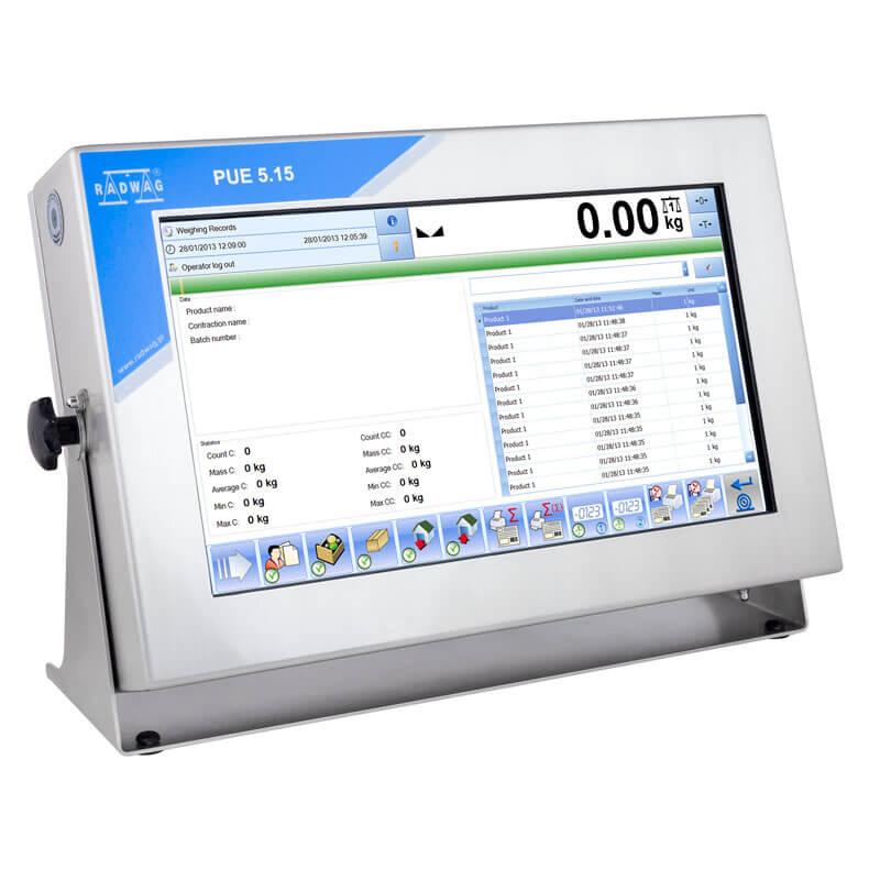 Terminal de pesage PUE 5.15IR - Radwag Les Balances Electroniquesview:1