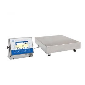 "HX7.15.HR3/5 Multifunctional Scale - The 7"" colour graphic display and the diode bar graph, which signals current net weight of a load in reference to the scale range or declared min, max thresholds, boost comfort especially in case of piecework where fast and precise presentation of product mass deviation is required with regard to the limit values. Housing back is equipped with hermetic communication interfaces such as RS232, RS485, USB, Ethernet, at your disposal there are also digital inputs/outputs and analogue output"