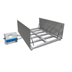 HX5.EX - To ensure precision and excellent measurement repeatability, high quality electronic components are used. The weighing platforms offered in wide range of dimensions and maximum capacities, this combined with excellent metrological parameters enables easy selection of an instrument that meets the most demanding requirements