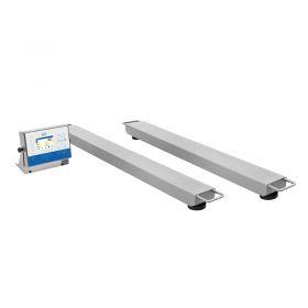 Waga płozowa HX5.EX - Do ich budowy wykorzystano wysokiej klasy komponenty elektroniczne zapewniające wysoką precyzję i doskonałą powtarzalność pomiaru. W zależności od zapotrzebowania użytkownik może wybierać spośród szerokiej gamy gabarytów i zakresów ważenia platform wagowych co w połączeniu z doskonałymi parametrami metrologicznymi zapewnia łatwy dobór urządzenia spełniającego najwyższe wymagania