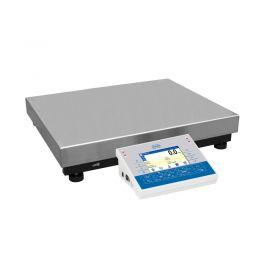 Balanzas multifuncionales C32.300.C2.R - La batería integrada y la transmisión inalámbrica de datos permiten la operación portátil. El software complejo permite llevar a cabo muchas tareas relacionadas con la medición de masa, por ejemplo: recuento de piezas, pesaje de control y estadística