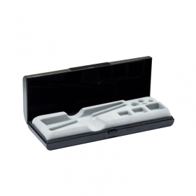 Cylindrical weights, set (1 mg - E1 Mass Standard - sets (1 mg - 2 kg), plastic box. - Radwag Balances and Scales