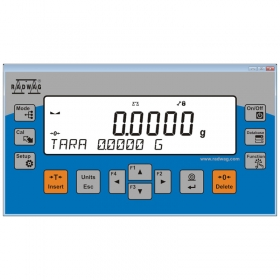 R Panel - The R Panel software enables operation of selected weighing instruments and modules via computer operation panel. The software is intended for computers based on Windows operating system