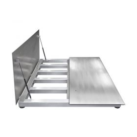 WPT/4 1500 H9/Z Stainless Steel Platform Scale, pit version in Industrial scales