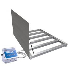 WPT/4 1500 H8/Z Stainless Steel Platform Scale, pit version