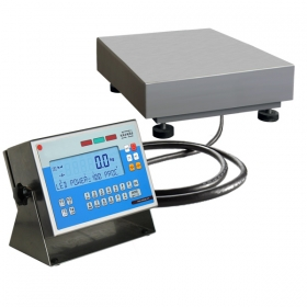 WPW 3/H1/K Multifunctional Scale - Functionality description of scale's versions:   Standard WPW/H scales:   Multifunctional WPW scales features a terminal PUE C41H series with backlit LCD display and a single load cell weighing platform in stainless steel version. Scales WPW/H series is available in dual range version on surcharge