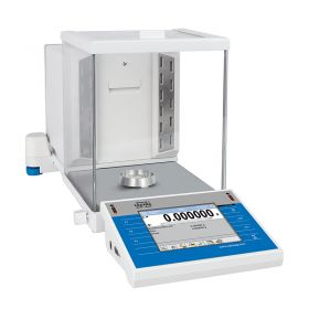 XA 6.4Y.M.A PLUS Microbalance - Innovative 2-Point Adjustment System Brand new adjustment system guarantees the highest measurement accuracy. It minimizes linearity errors simultaneously providing reliable indications for the whole weighing range
