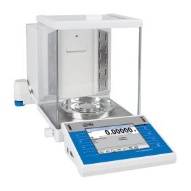 XA 120/250.4Y.A PLUS Analytical Balance - Innovative 2-Point Adjustment System Brand new adjustment system guarantees the highest measurement accuracy. It minimizes linearity errors simultaneously providing reliable indications for the whole weighing range
