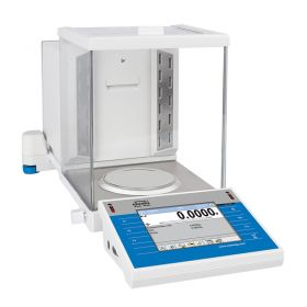 XA 310.4Y.A PLUS Analytical Balance - Innovative 2-Point Adjustment System Brand new adjustment system guarantees the highest measurement accuracy. It minimizes linearity errors simultaneously providing reliable indications for the whole weighing range