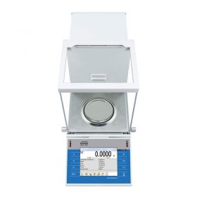 XA 220.4Y.A Analytical Balance - Faster measurement with the new CPU 4Y balances feature Dual Core 2 x 1 GHz processor which delivers noticeable performance improvements including faster operation and shorter stabilization time retaining high repeatability values. Monitoring and elimination of electrostatics Installation of an additional deionizer module in a weighing chamber facilitates automatic detection and elimination of electrostatics effect to which both, sample and container intended for measurement may be subjected