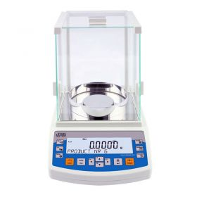 AS 82/220.R2 Analytical Balance - It features modern, readable LCD display which allows a clearer presentation of the weighing result. The display has a new text information line presenting additional messages and data, e