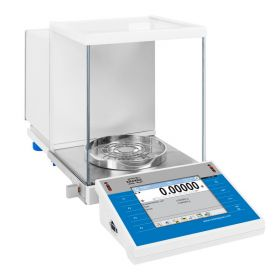 XA 110.4Y.A Analytical Balance - Innovative 2-point adjustment system Brand new adjustment system guarantees the highest measurement accuracy. It minimizes linearity errors simultaneously providing reliable indications for the whole weighing range