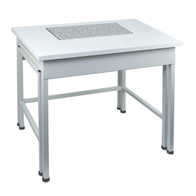 SAP/C – anti-vibration table in mild steel technology in Weighing tables