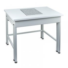 SAL / C – Anti-vibration table in mild steel technology in Weighing tables