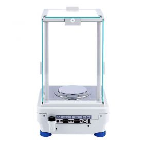 AS 110.R2 Analytical Balance - It features modern, readable LCD display which allows a clearer presentation of the weighing result. The display has a new text information line presenting additional messages and data, e