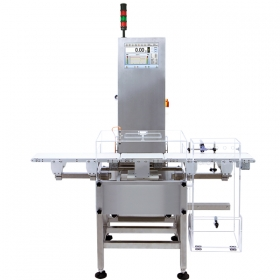 DWM 750 Checkweigher - Used magnetoelectric modules allow to weigh products quickly, providing the highest accuracy of weighment.