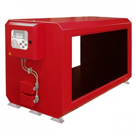 MD 05 Metal Detector - Closed, rectangular tunnel with separate electronic cabinet. To be installed on belt conveyors