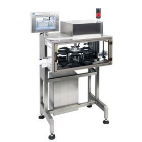 DWR 7500 H2 Checkweigher - Industrial computer is designed to operate in hard industrial conditions. Its cooperation with specially prepared Windows platform makes the system stable and allows for holding set parameters