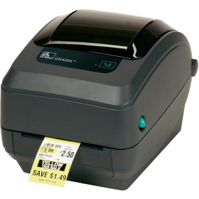 GK 420t Zebra Printer -   Built with Zebra durability and reliability, the G-Series GK model provides the best value of all basic desktop thermal printers, while the premier GX model supports a variety of industries and applications with the widest range of features. Choose the space-saving direct thermal version of either model for the smallest footprint of any 4-inch desktop printer, or the direct thermal/thermal transfer version to save users time with the easiest ribbon-loading system available