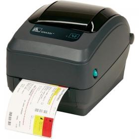 Thermischer Drucker Zebra GX 430t - Alle G-Series-Drucker wurden mit besonderer Berücksichtigung der Zuverlässigkeit und Beständigkeit - der Markenmerkmale der Zebra-Produkte - entworfen. Das Modell GK hat den besten Preis-Leistungsverhältnis in der Kategorie der thermischen Desktopdrucker der Grundklasse, GX das Model der höheren Klasse ist mit umfangreichen Funktionen ausgestattet und hat sich bestens in verschiedenen Branchen und Anwendungen bewährt