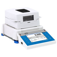 MA 200.3Y Moisture Analyzer - Moisture analyzer is a laboratory measuring instrument intended to determine relative moisture content in samples of different substances. MA 3Y features 5,7 LCD colour touch panel which provides new possibility within the scope of balance operation and presentation of measurement result (Max:200g/d:1mg)