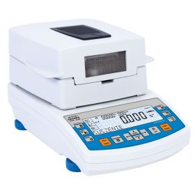 MA 50/1.R Moisture Analyzer - R series redefines moisture analyzers standards. This series has been equipped with brand new readable LCD display providing an extra text line for information such as supplementary messages and data, e