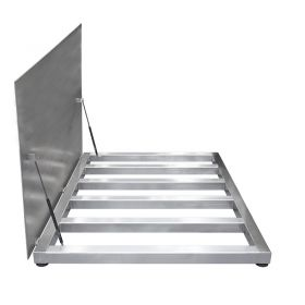 PL/4/3000/H8/Z - Four load cell stainless steel platforms - Radwag Balances and Scales