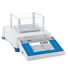 PS 250.3Y Precision Balance - The 3Y series comprises automatic internal adjustment system using an internal mass standard. The balance level is monitored by a LevelSENSING system, a RADWAG patented solution including an electronic level