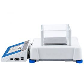 PS 450.3Y Precision Balance - The 3Y series comprises automatic internal adjustment system using an internal mass standard. The balance level is monitored by a LevelSENSING system, a RADWAG patented solution including an electronic level