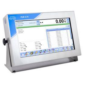 Terminal de pesage PUE 5.15C - Le terminal de pesage PUE 5.15 est conçu pour les constructions de balances de la résolution maximale de 6000 e