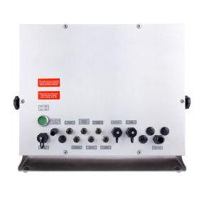 Terminal de pesage PUE 5.19R - Le terminal de pesage est réalisé en acier inoxydable et a l'herméticité IP68. Il est alimenté d'un tension 100 ÷ 240 V AC, 50 ÷ 60 Hz