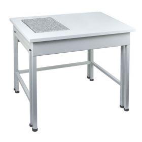Mesa antivibrátil para balanza SAL/T -  Fue diseñado para garantizar la mayor estabilidad de los resultados de medición de masa.  Por pedido especial, las dimensiones de la mesa se pueden adaptar a los requisitos del cliente