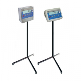 Stand for PUE C/31 Indicator - A stand, based on a tripod for supporting scale's indicator installed on a cable. Mild steel or stainless steel version available. - RADWAG Balanzas Electrónicas