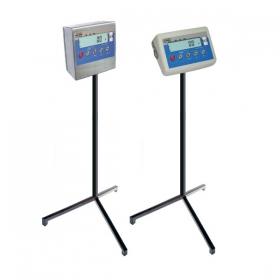 PUE C/31 Indikatör için kaide - Kablolu terazi indikatörünün monte edildiği, üç ayaklı kaide. Yumuşak çelik veya paslanmaz çelik versiyonu mevcuttur. - Radwag Terazileri İleri Tartım Teknolojileri